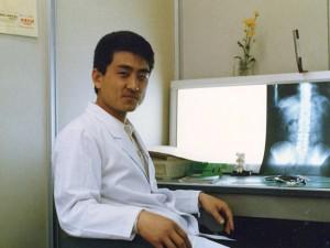 1980年 徳島県医師会阿南中央病院にて
